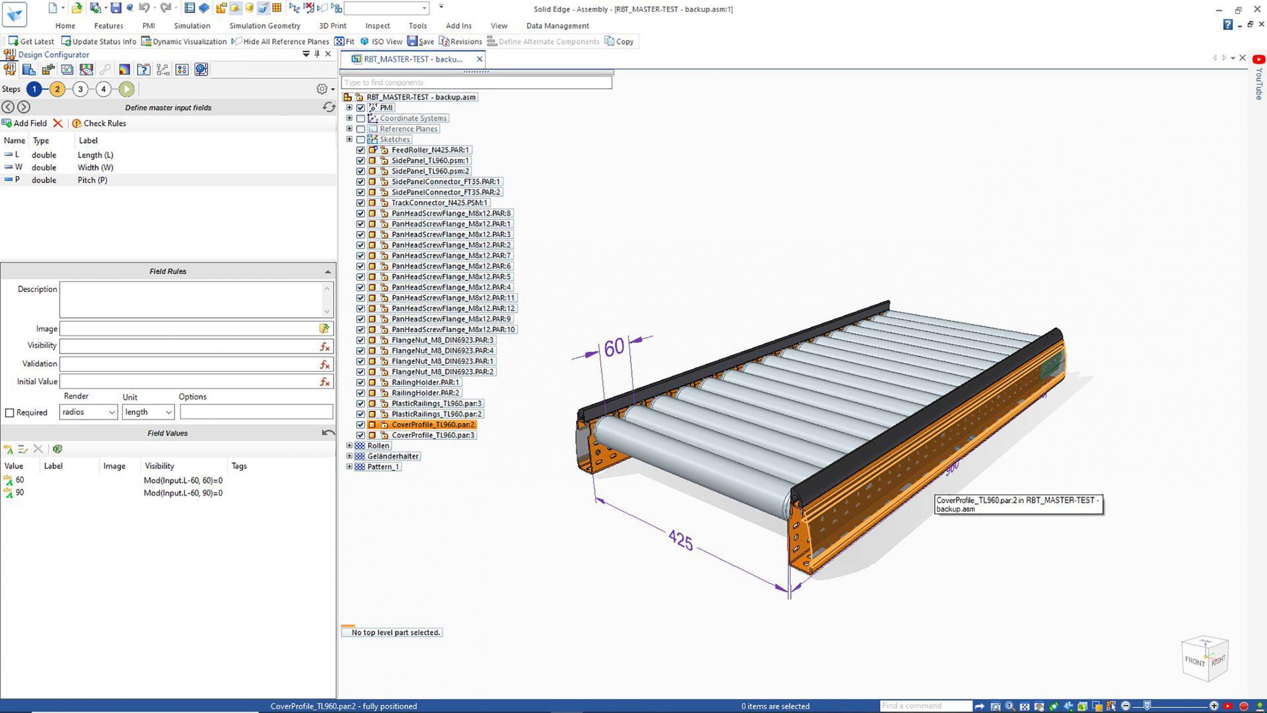 Neue Version von Konstruktionstool Solid Edge
