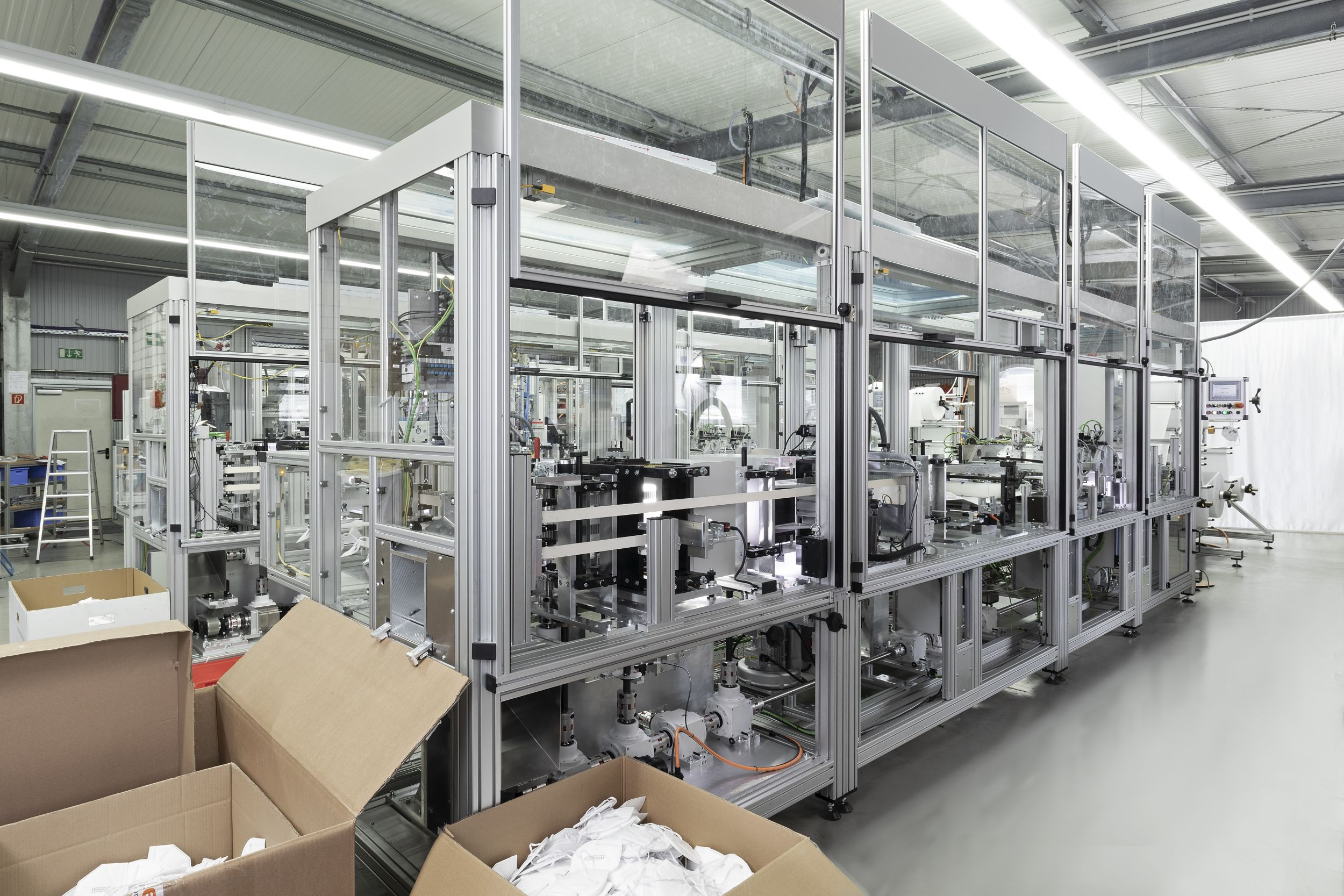 Maskenproduktion Made in Germany