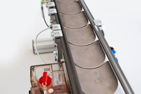 Automatisches Schmiersystem für Plattenkettenförderer